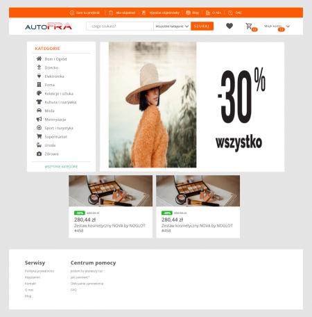 AutoFra - Platforma handlowa
