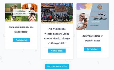 Wesoła Łapka – Szkoła Przyjaciół Psów