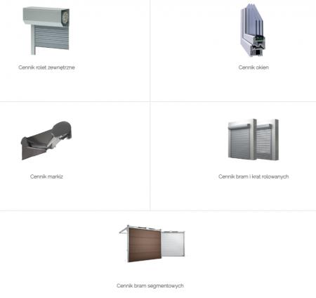 RoletyAlu - konfigurator i cennik rolet, okien  oraz bram i markiz tarasowych