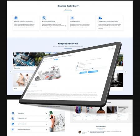 BarterStore - Platforma wymiany barterowej usług i produktów online